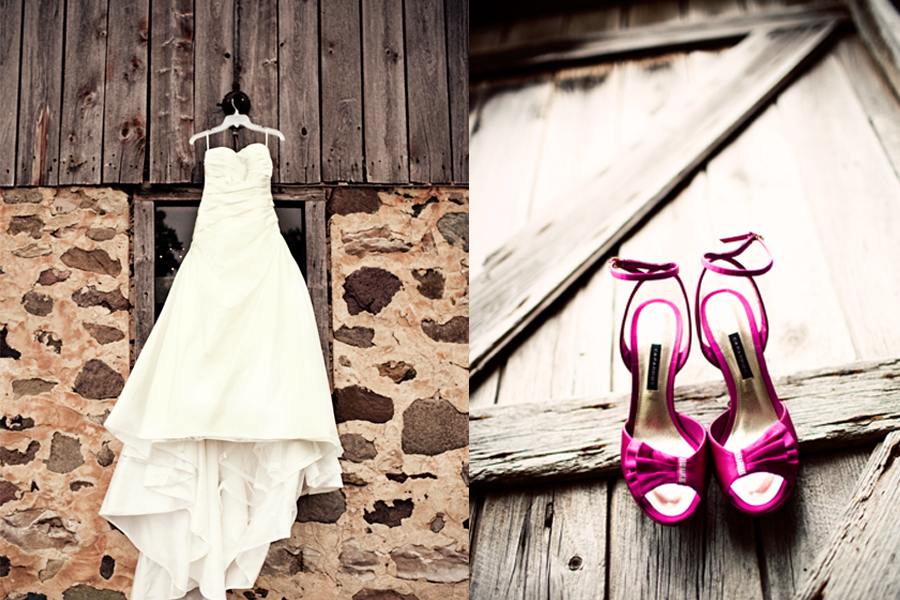 The dress often times becomes a reflection of the style of the wedding